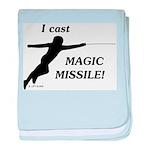 Magic Missile baby blanket