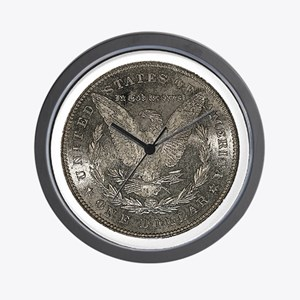 Morgan Reverse Wall Clock