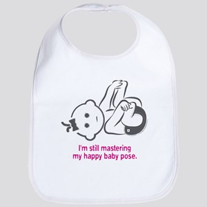 Yoga Happy Baby - Bib (Pink)