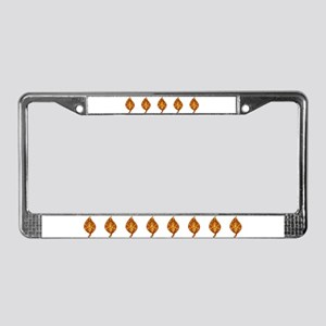 "Gold Leaf ""Leaf"" License Plate Frame"