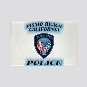 Pismo Beach Police Rectangle Magnet