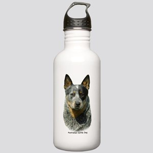 Australian Cattle Dog 9F061D-04 Stainless Water Bo