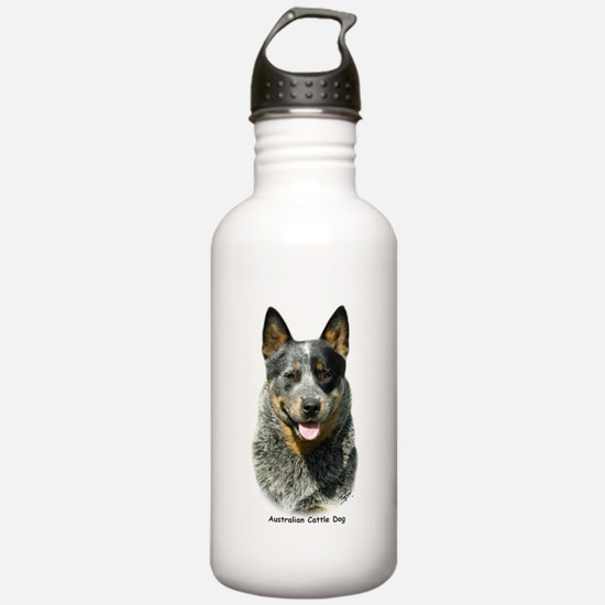 Australian Cattle Dog 9F061D-03 Sports Water Bottle