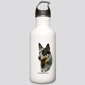 Australian Cattle Dog 9F061D-05 Stainless Water Bo