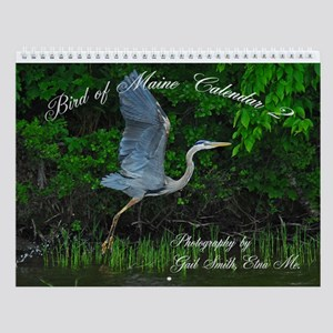 Birds of Maine 2 Wall Calendar