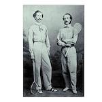 Edwardian Racketeers Postcards (package Of 8)