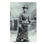 Tennis Lady Postcards (package Of 8)
