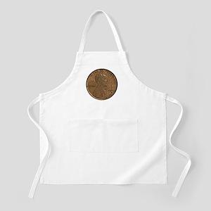 Lincoln Wheat Obverse BBQ Apron