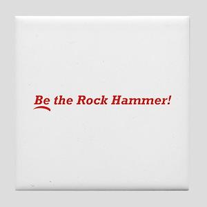 Rock Hammer Tile Coaster