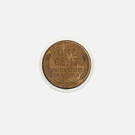 Lincoln Wheat Reverse Mini Button