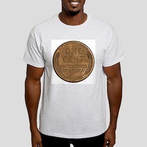Lincoln Wheat Reverse Ash Grey T-Shirt