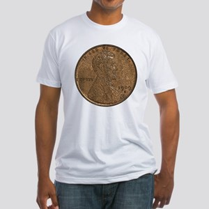 Lincoln Wheat Double-Sided Fitted T-Shirt