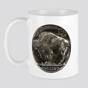Buffalo Nickel Reverse Mug