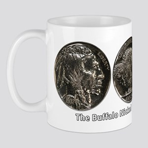 Buffalo Nickel Double-Sided Mug