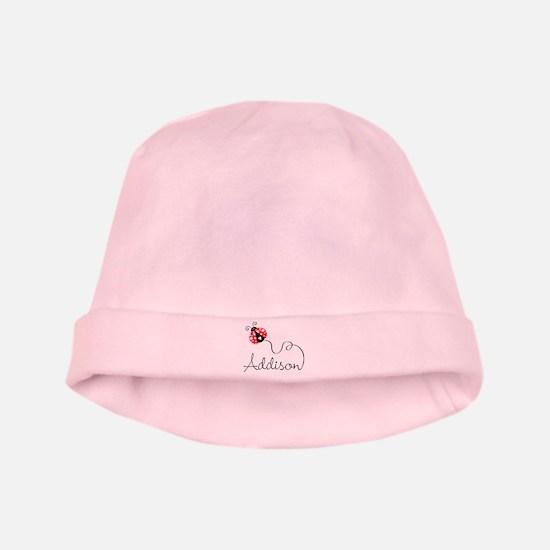 Ladybug Addison baby hat