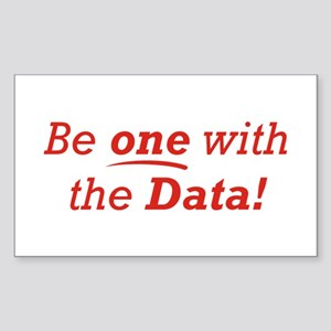 One / Data Sticker (Rectangle)
