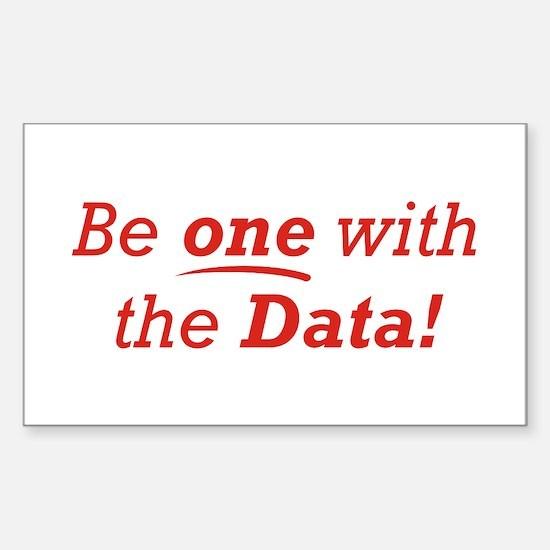 One / Data Sticker (Rectangle)