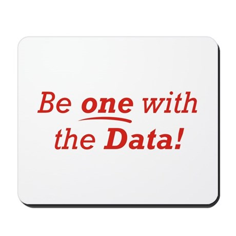 One / Data Mousepad