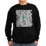 LOST Names Sweatshirt (dark)