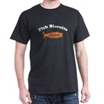 Dharma Fish Biscuits Dark T-Shirt