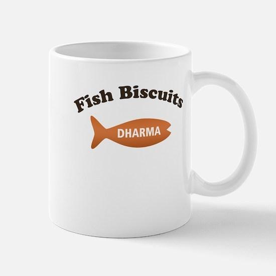Dharma Fish Biscuits Mug