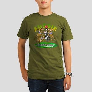 Aussie Rules Organic Men's T-Shirt (dark)