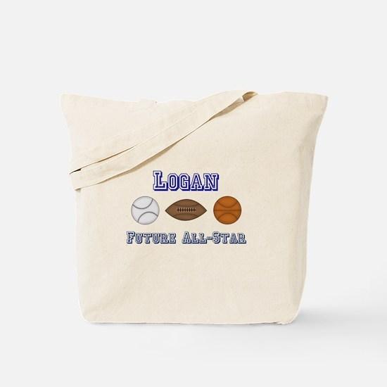 Logan - Future All-Star Tote Bag