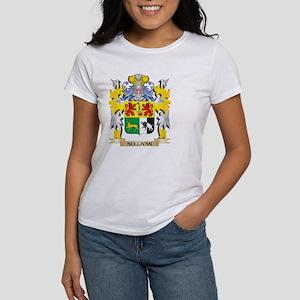 Sullivan Family Crest - Coat of Arms T-Shirt