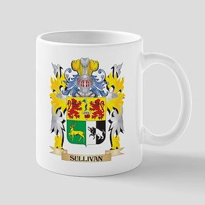 Sullivan Family Crest - Coat of Arms Mugs