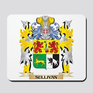 Sullivan Family Crest - Coat of Arms Mousepad
