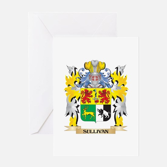 Sullivan Family Crest - Coat of Arm Greeting Cards