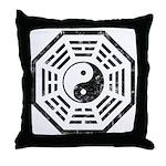 Dharma Yin Yang Throw Pillow