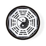 Dharma Yin Yang Wall Clock