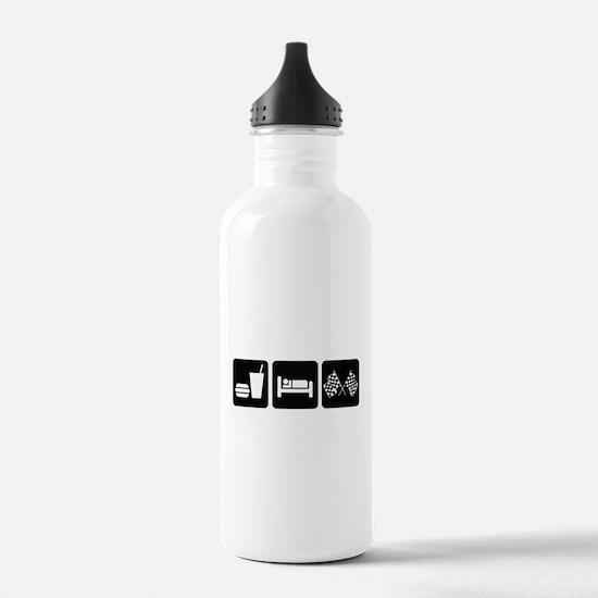 Eat Sleep Race Water Bottle