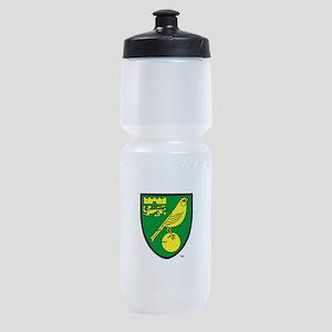 Norwich City FC Crest Sports Bottle