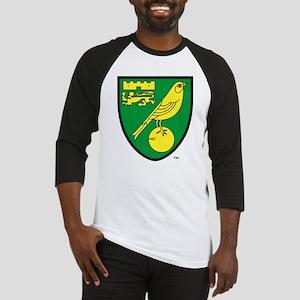 Norwich City FC Crest Baseball Jersey