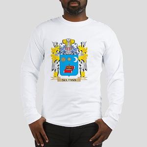 Sultana Family Crest - Coat of Long Sleeve T-Shirt