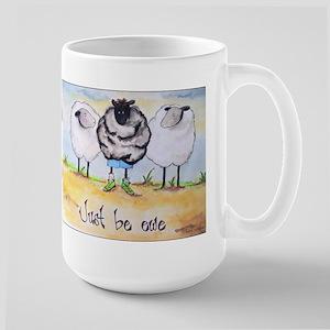 Just be Ewe Large Mug