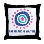 Island Is Waiting Throw Pillow