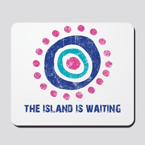 Island Is Waiting Mousepad