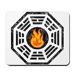 Dharma Flame Mousepad