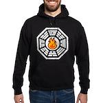 Dharma Flame Hoodie (dark)