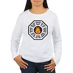 Dharma Flame Women's Long Sleeve T-Shirt