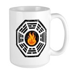 Dharma Flame Large Mug