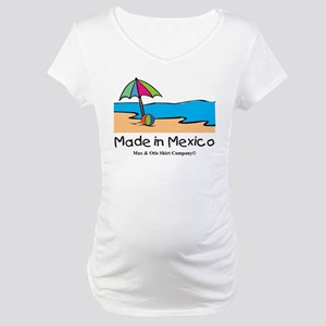 Made in Mexico - beach Maternity T-Shirt