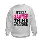 Sawyer Thing Kids Sweatshirt