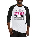 Sawyer Thing Baseball Jersey