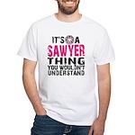 Sawyer Thing White T-Shirt