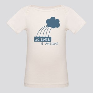 Science is Awesome Organic Baby T-Shirt