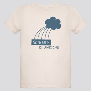 Science is Awesome Organic Kids T-Shirt